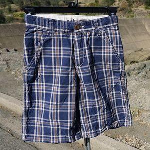 Oshkosh plaid walking shorts size 8 EUC